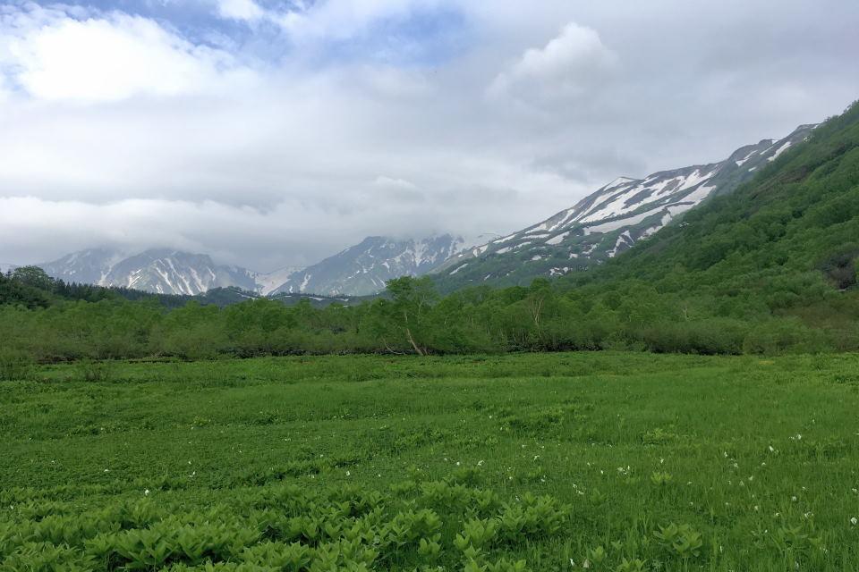 小蓮華山~白馬三山