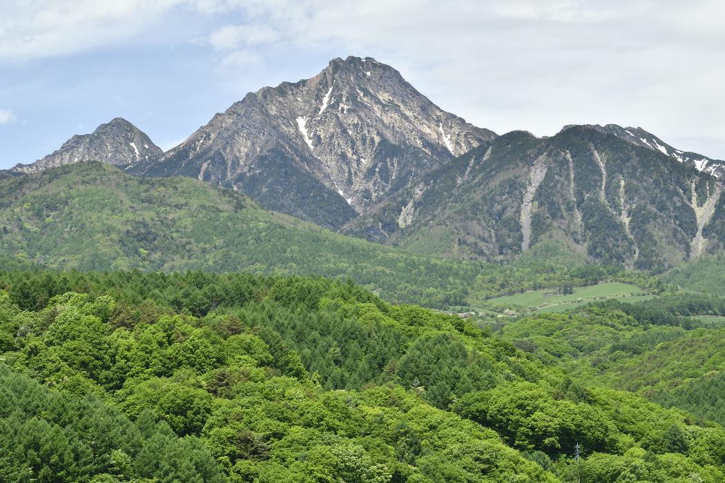 主峰の赤岳