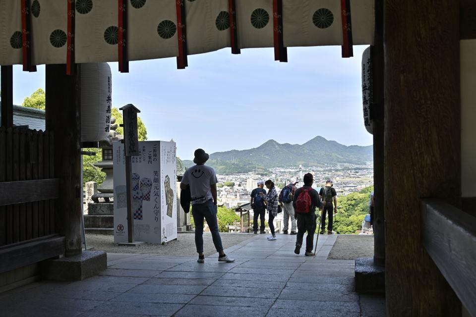 大門からの眺め