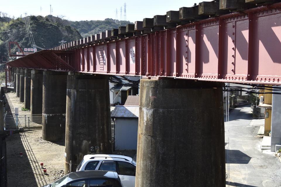 三江線の鉄橋