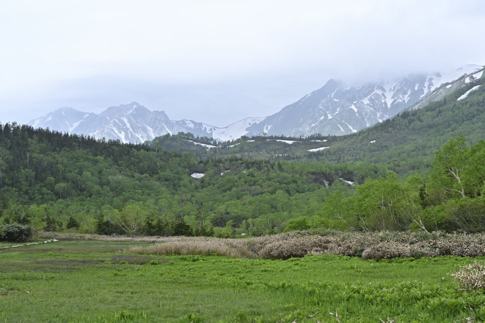 杓子岳、鑓ヶ岳